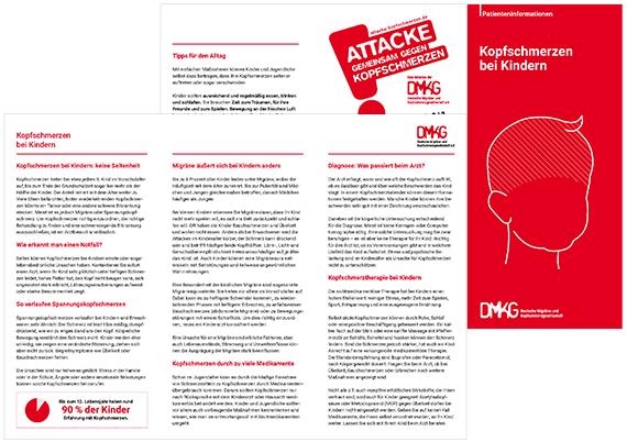 Patienteninformation Kopfschmerzen bei Kindern | DMKG